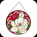Suncatcher-MC217-Magnolias/...the Lord delights in you. Is 62:4 - Magnolias/...the Lord delights in you. Is 62:4