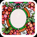 Magnet-MGP071-Red Grapes - Red Grapes