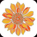 Metal Magnet-MM5003-Sunflower - Sunflower