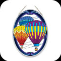 Suncatcher-MO095-Hot Air Balloons - Hot Air Balloons