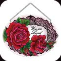 Suncatcher-MO123R-Roses & Lace - Roses & Lace