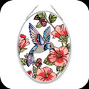 Suncatcher-MO125-Red Meadow Hummingbird - Red Meadow Hummingbird