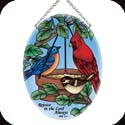 Suncatcher-MO131R-Birds of a Feather/Rejoice in the... - Birds of a Feather/Rejoice in the Lord Always. Phil. 4:4