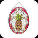 Suncatcher-MO139-Pineapple/WELCOME - Pineapple/WELCOME