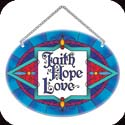 Suncatcher-MO159R-Faith Hope Love  - Faith Hope Love