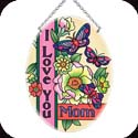 Suncatcher-MO182R-Mom Floral/I Love You Mom - Mom Floral/I Love You Mom