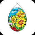 Suncatcher-MO195-Sunflower Field/In everything... - Sunflower Field/In everything give thanks? 1 Th. 5:18