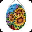 Suncatcher-MO195R-Sunflower Field/In everything... - Sunflower Field/In everything give thanks? 1 Th. 5:18