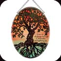 Suncatcher-MO275R-Tree of Life/I can do all things through Christ who strenghtens me. Phil. 4:13 - Tree of Life/I can do all things through Christ who strenghtens me. Phil. 4:13