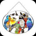 Suncatcher-MO281-Birds on a Wire - Birds on a Wire