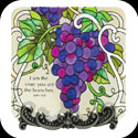 Message Plaque-MP1065-Grape Arbor/I am the vine... - Grape Arbor/I am the vine; you are the branches. John 15:5
