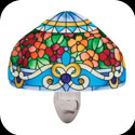 Nightlight-NL1004-Tiffany Floral - Tiffany Floral