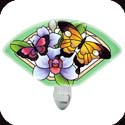 Nightlight-NL143R-Butterfly Garden - Butterfly Garden