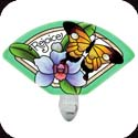 Nightlight-NL144R-Butterfly Garden/Rejoice - Butterfly Garden/Rejoice
