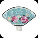 Nightlight-NL145-Rose Mist/Be still, and know... - Rose Mist/Be still, and know that I am God.