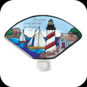 Nightlight-NL146-Lighthouse/The Lord is my light... - Lighthouse/The Lord is my light and my salvation. Ps. 27:1