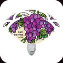 Nightlight-NL147R-Grape Arbor/I am the vine... - Grape Arbor/I am the vine; you are the branches. Jn. 15:5