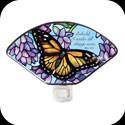 Nightlight-NL151-Wings & Wisteria/Behold... - Wings & Wisteria/Behold, I make all things new. Rev. 21:5