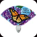Nightlight-NL151R-Wings & Wisteria/Behold... - Wings & Wisteria/Behold, I make all things new. Rev. 21:5
