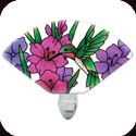Nightlight-NL153R-Hummingbird/Gladioluses - Hummingbird/Gladioluses