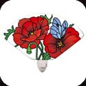 Nightlight-NL164R-Poppy Garden - Poppy Garden