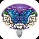 Nightlight-NL257R-Gardenias/Trust in the Lord. Prov. 3:5 - Gardenias/Trust in the Lord. Prov. 3:5