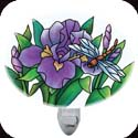 Nightlight-NL274R-Purple Irises - Purple Irises