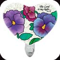 Nightlight-NL320R-Victorian Pansy/The Lord is my light. Ps. 82 - Victorian Pansy/The Lord is my light. Ps. 82