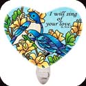 Nightlight-NL323R-Classical bluebirds/I will sing of your love. Ps. 59:16 - Classical bluebirds/I will sing of your love. Ps. 59:16