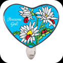 Nightlight-NL334-Daisies & Ladybugs/Awesome God - Daisies & Ladybugs/Awesome God