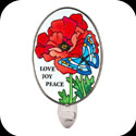 Nightlight-NL4004-Poppy Garden/Love, Joy, Peace - Poppy Garden/Love, Joy, Peace