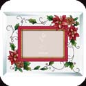 Photoframe-PFB4608R-Poinsettias - Poinsettias