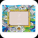 Photoframe-PFR3585-Dragonfly/Water Lilies - Dragonfly/Water Lilies