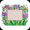 Photoframe-PFR3586-Purple Irises - Purple Irises