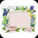 Photoframe-PFR3594-Hummingbird/Lilies/I hold you in my heart - Hummingbird/Lilies/I hold you in my heart