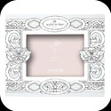 Photoframe-PFR3598-Butterfly in Whites//Be joyful - Butterfly in Whites//Be joyful