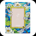 Photoframe-PFR4677-Dragonfly/Water Lilies - Dragonfly/Water Lilies