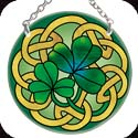 Suncatcher-SC070R-Irish Tiffany - Irish Tiffany