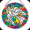 Suncatcher-SC111R-Holy Spirit Dove - Holy Spirit Dove