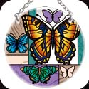Suncatcher-SC236R-Butterfly Collage - Butterfly Collage