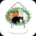 Suncatcher-SFS1009-Tiffany Cats - Tiffany Cats