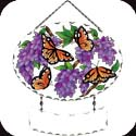 Suncatcher-SFS1017R-Wings & Wisteria - Wings & Wisteria