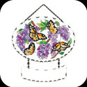 Suncatcher-SFS1017-Wings & Wisteria - Wings & Wisteria