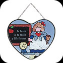 Suncatcher-SH419-Teacher/To Teach is to touch a life forever - Teacher/To Teach is to touch a life forever