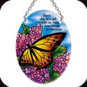 Suncatcher-SO096R-Butterfly Bush/Each day is a gift... - Butterfly Bush/Each day is a gift with so many new things to discover.