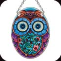 Suncatcher-SO099R-Patterned Owl - Patterned Owl