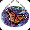 Suncatcher-SO107R-Wings & Wisteria - Wings & Wisteria