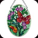 Suncatcher-SO112R-Butterflies & Ferns - Butterflies & Ferns
