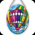 Suncatcher-SO113R-Hot Air Balloons - Hot Air Balloons