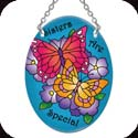 Suncatcher-SO123R-Butterflies/Sisters Are Special - Butterflies/Sisters Are Special